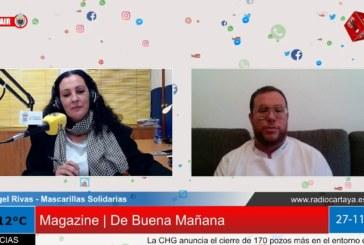 Radio Cartaya | El onubense Ángel Rivas dona más de 7.500 mascarillas solidarias