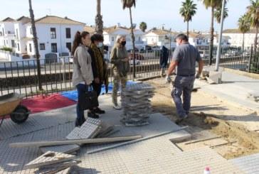El Ayuntamiento intensifica los trabajos de adecentamiento y embellecimiento de la localidad