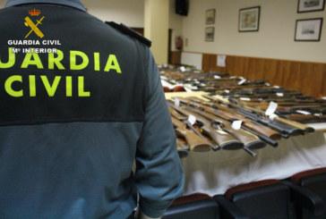 La Guardia Civil anuncia el aplazamiento de la subasta de armas que se iba a realizar en la Comandancia de Huelva