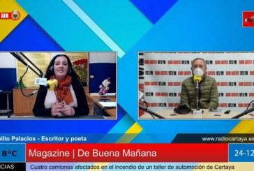 Radio Cartaya | Emilio Palacios nos habla de su libro 'Desde Mi Orilla'
