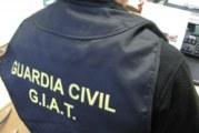 La Guardia Civil ha esclarecido 110 delitos contra la Seguridad Vial llevados a cabo por personas reincidentes