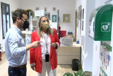 Cartaya Tv | El Ayuntamiento instala el primer espacio cardioprotegido en la Oficina de Turismo