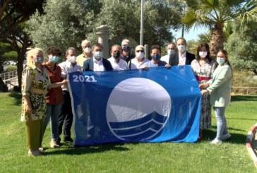 Cartaya Tv   Ondea la bandera azul en Marina Nuevo Portil