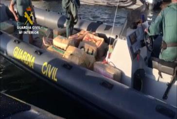 Ayamonte | La Guardia Civil interviene 3.700 kg. de hachís en la Costa de la localidad