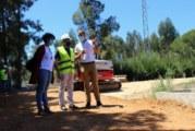 Comienzan las obras del penúltimo tramo del carril bici entre Cartaya y El Rompido