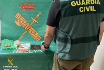 Lepe   La Guardia Civil desarticula un punto de venta de droga deteniendo a dos personas en la localidad