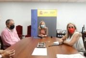 La Subdelegación del Gobierno y el Ayuntamiento abordan las actuaciones de Costas en la Ría del Piedras