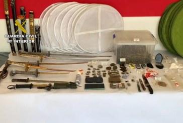 La Guardia Civil desmantela varios puntos de venta de droga muy activos tras los registros de tres domicilios en Alosno y Gibraleón