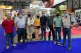 La alcaldesa apoya la promoción de los productos agrícolas de la localidad en Fruit Attraction y traslada al ministro las demandas del sector