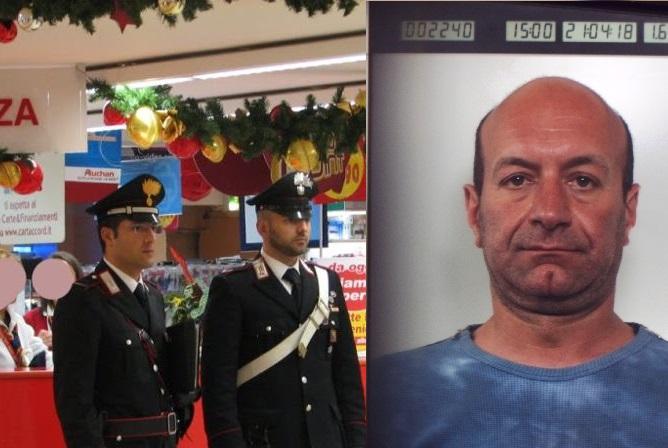 """Cassinate – Faceva la """"spesa"""" gratis nei supermercati di Arce. In manette 43enne campano"""