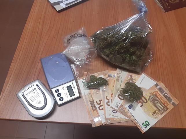 La droga sequestrata a Veroli