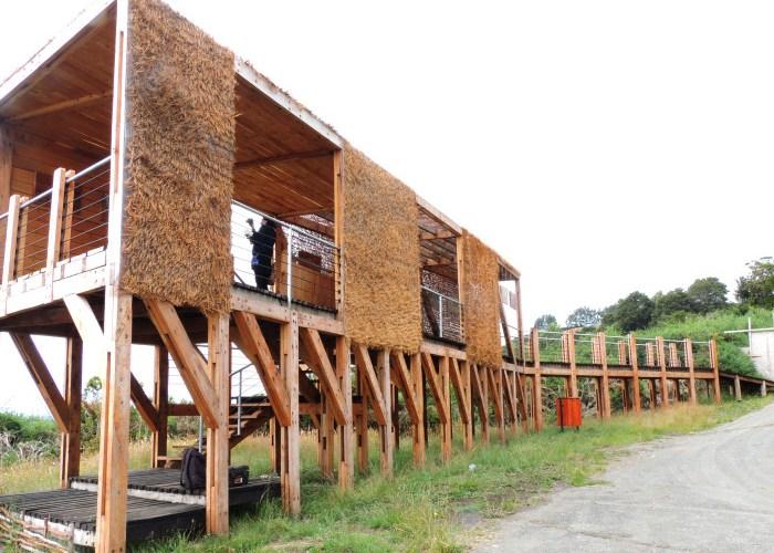 Construyen mirador y mejoran iluminación en Fuerte Tauco