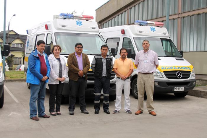 Radio chiloe mrg nuevas ambulancias se sumar n a la flota de la red de salud de chilo - Centro de salud la flota ...