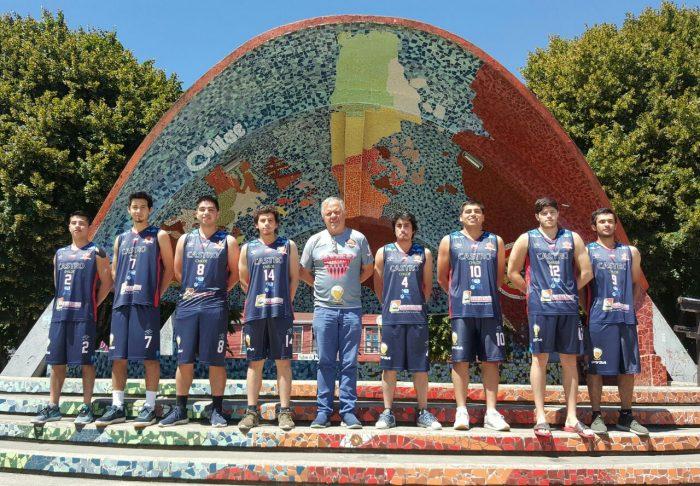 Castreños disputarán torneo internacional de básquetbol categoría Sub 22.