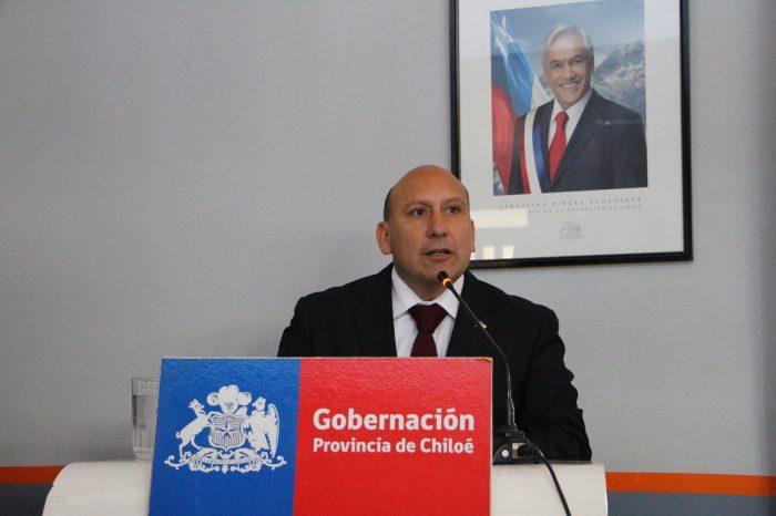 Chiloé: asumió nuevo Gobernador Provincial.