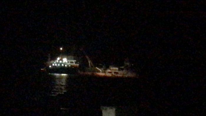 Talcahuano: autoridades preocupadas por arribo del Seikongen tras su zarpe a ese destino.