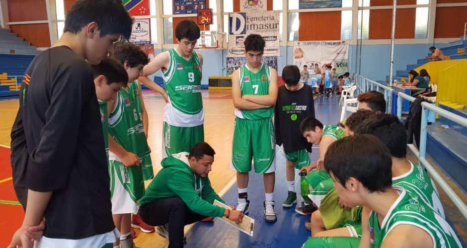 Ancud fue anfitrión en torneo de básquetbol