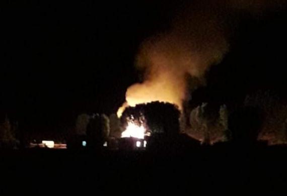 Castro: intencional habría sido incendio que destruyó una vivienda.