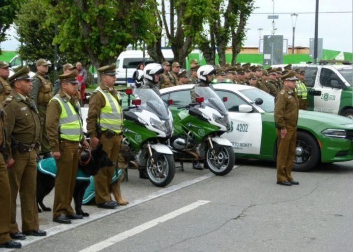 Regional: se realizó operativo de seguridad pública.