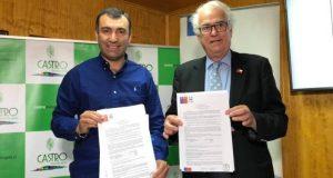 Castro: firman convenios mandatos para conservación de Feria Lillo y reposición de veredas.