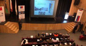 Castro: se realizó seminario de preparación y respuesta frente a terremotos y tsunamis.