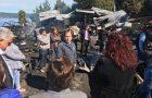 Quellón: alumnos de Trincao retoman actividades escolares tras incendio que afectó a su establecimiento.