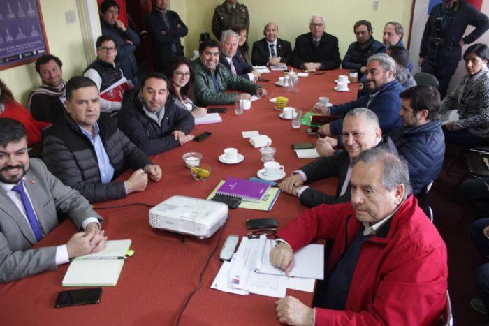 Chiloé: Consejeros Regionales se reúnen con autoridades en busca de solución a problema de la basura.