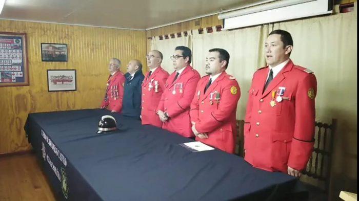 Castro: Sexta Compañía cumplió 53 años.