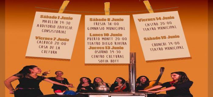 "Chonchi: ""Aquarela Ensamble"" se presentará en Teatro Municipal"