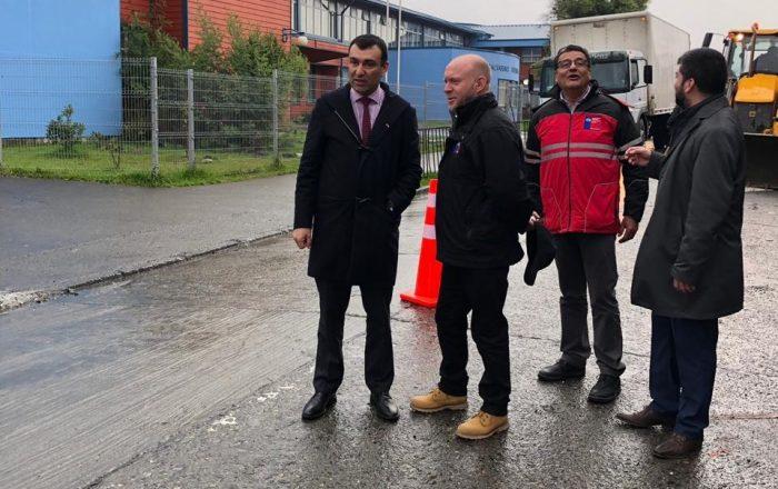 Castro: Anuncian importantes obras de pavimentación en caminos rurales.