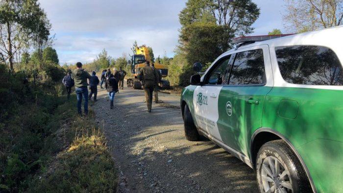 Ancud: continúan trabajos para habilitar relleno sanitario en San Antonio de Hueldén.