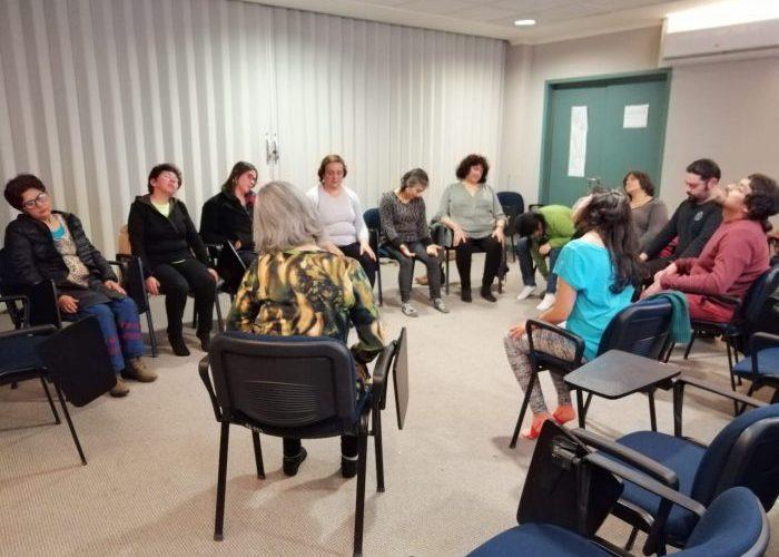 Castro: realizan taller de medicina alternativa en hospital Augusto Riffart.