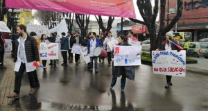 Castro: Médicos Generales de Zona marcharon por calles céntricas de la ciudad.