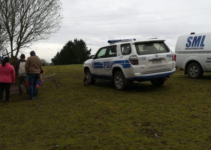 Osorno: detienen a imputado de homicidio.