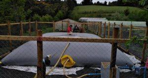 Curaco de Vélez: agricultores cuentan con nuevo sistema de acumulación de agua lluvia.