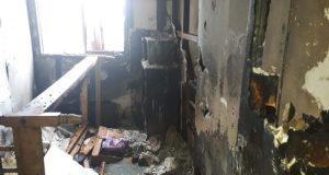 Quellón: incendio dejó a una persona con graves quemaduras en su cuerpo.