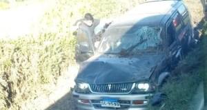 Dalcahue: accidente de tránsito deja tres personas lesionadas.