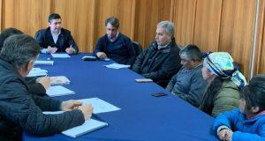 Regional: sostienen diálogos para levantar demandas sociales prioritarias del sector rural.
