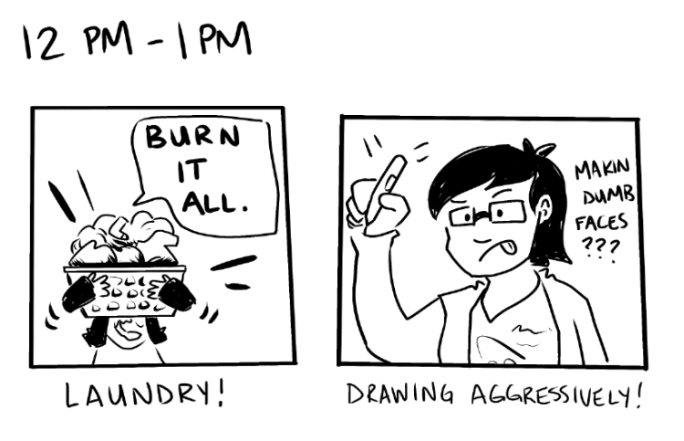 Hourly Comic Day 2016 - 4
