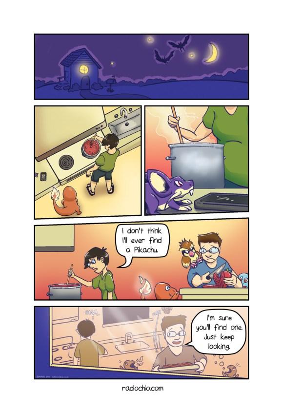 Pikachu Problems - 1