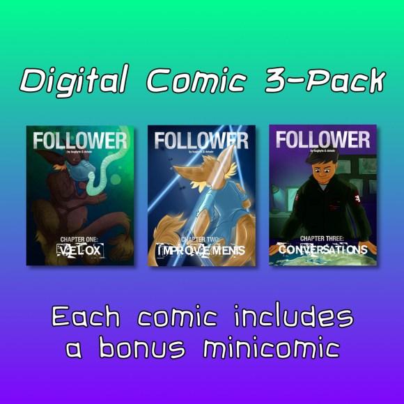 Digital Comic 3-pack
