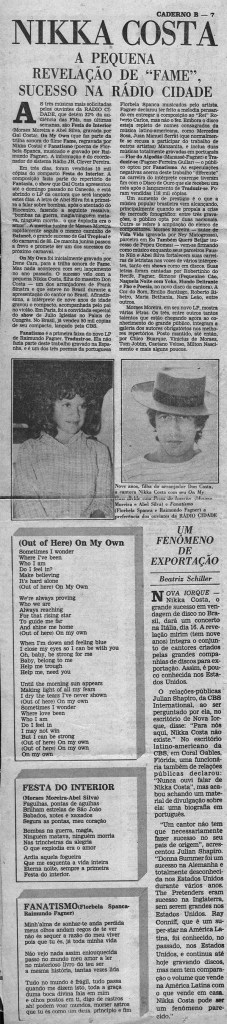 "Trilha Sonora do Filme ""Fame"""