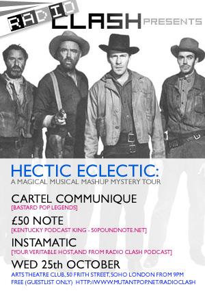 Hectic Eclectic flyer 2