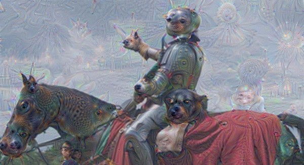 Deep Dream knight