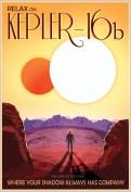 NASA space travel poster Kepler_16b_39x27-sm