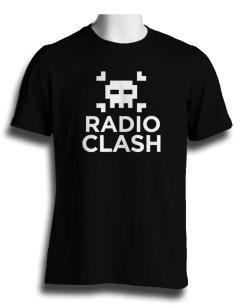 Radio Clash Tshirt Black