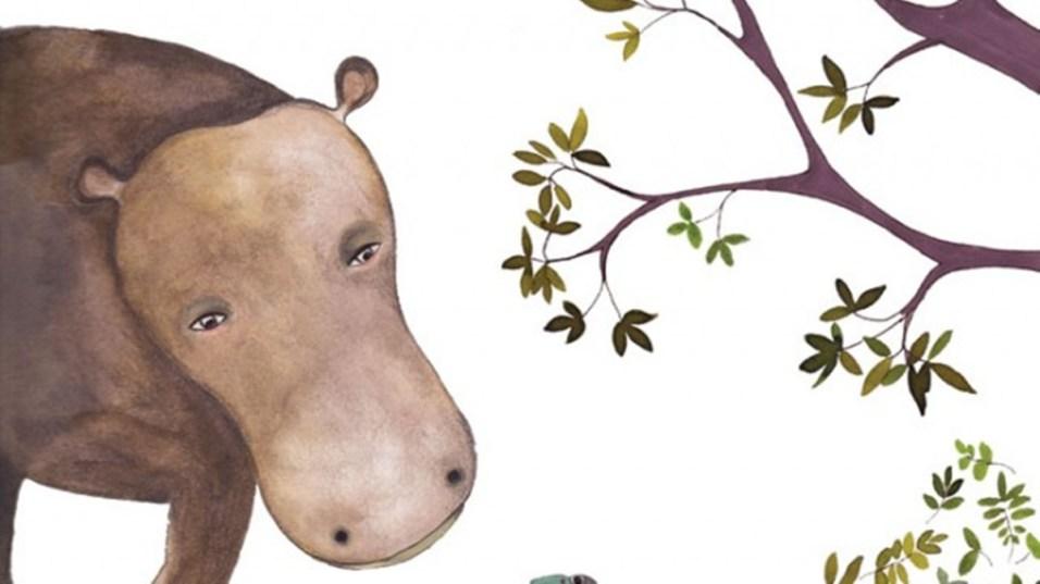 hipopotam si broscuta