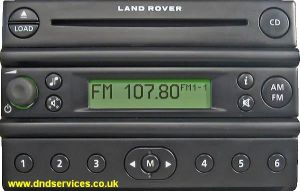 Land Rover FL5 CDX6 EUROPE  4CFF-18C838-BC