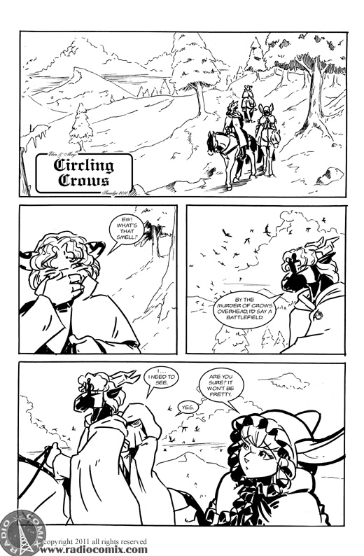 Circling Crows Pg01