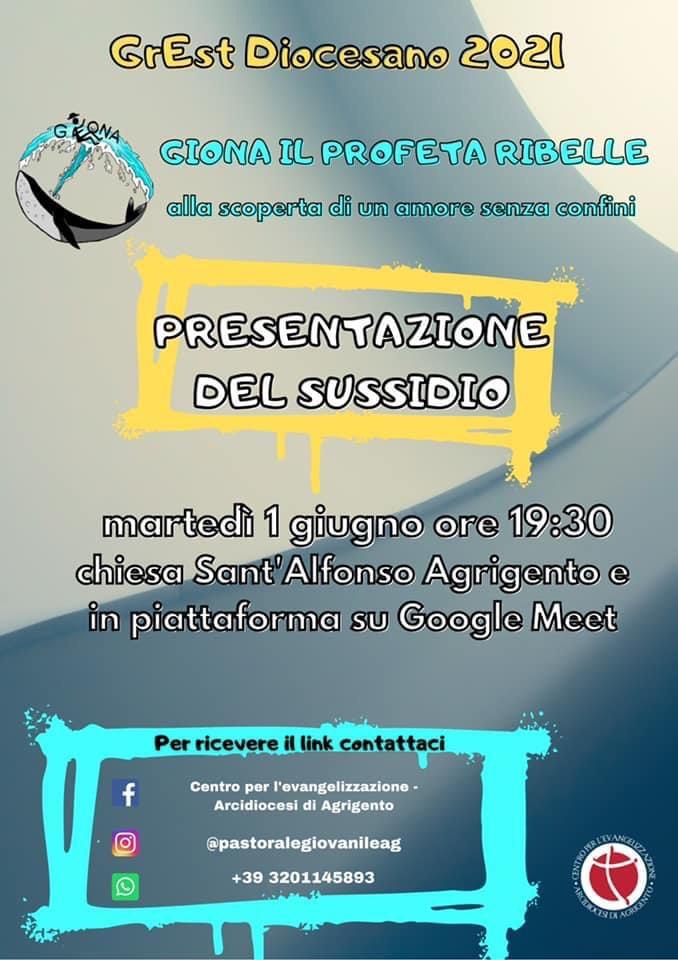 Si presenta il GrEst Diocesano 2021 presso la chiesa di Sant'Alfonso